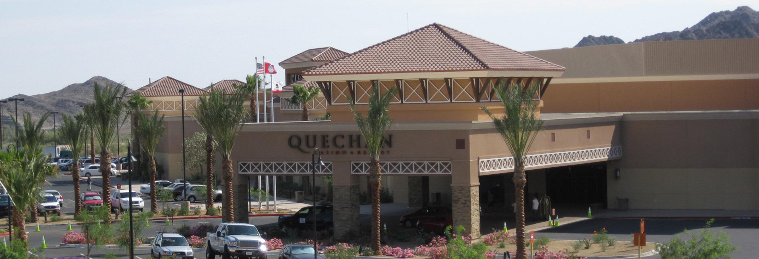 Quechan Casino Entrance