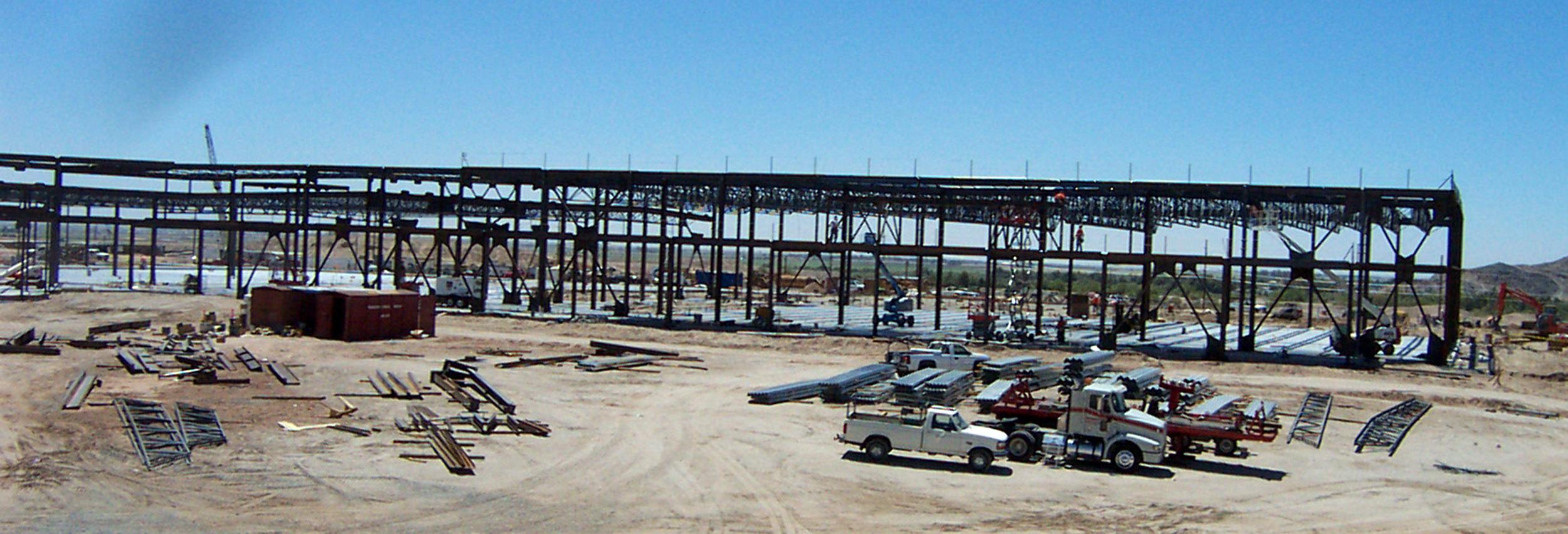 Quechan Casino Structural Steel