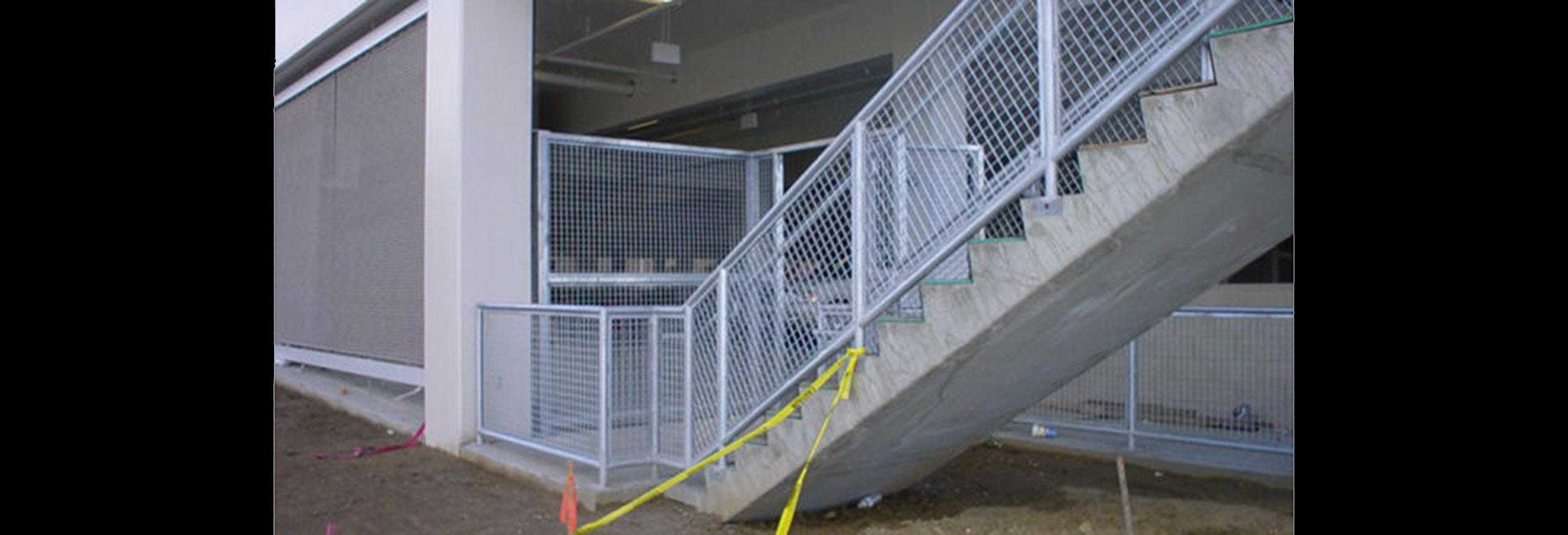 CSUSM Garage Mesh Gate