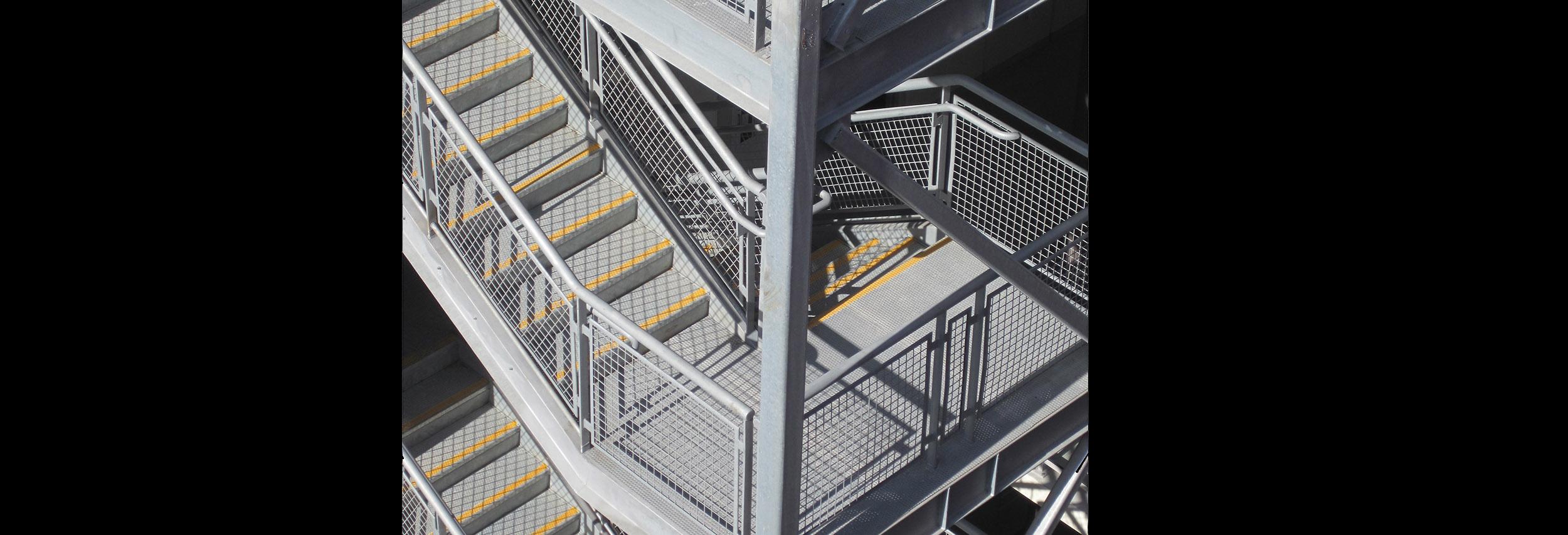 Downtown Stair Landing